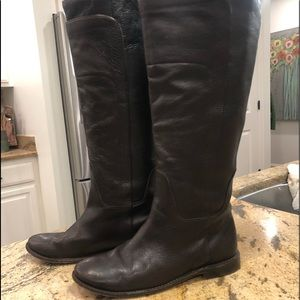 Awesome Frye Paige y'all boots sz 8 Dark Brown